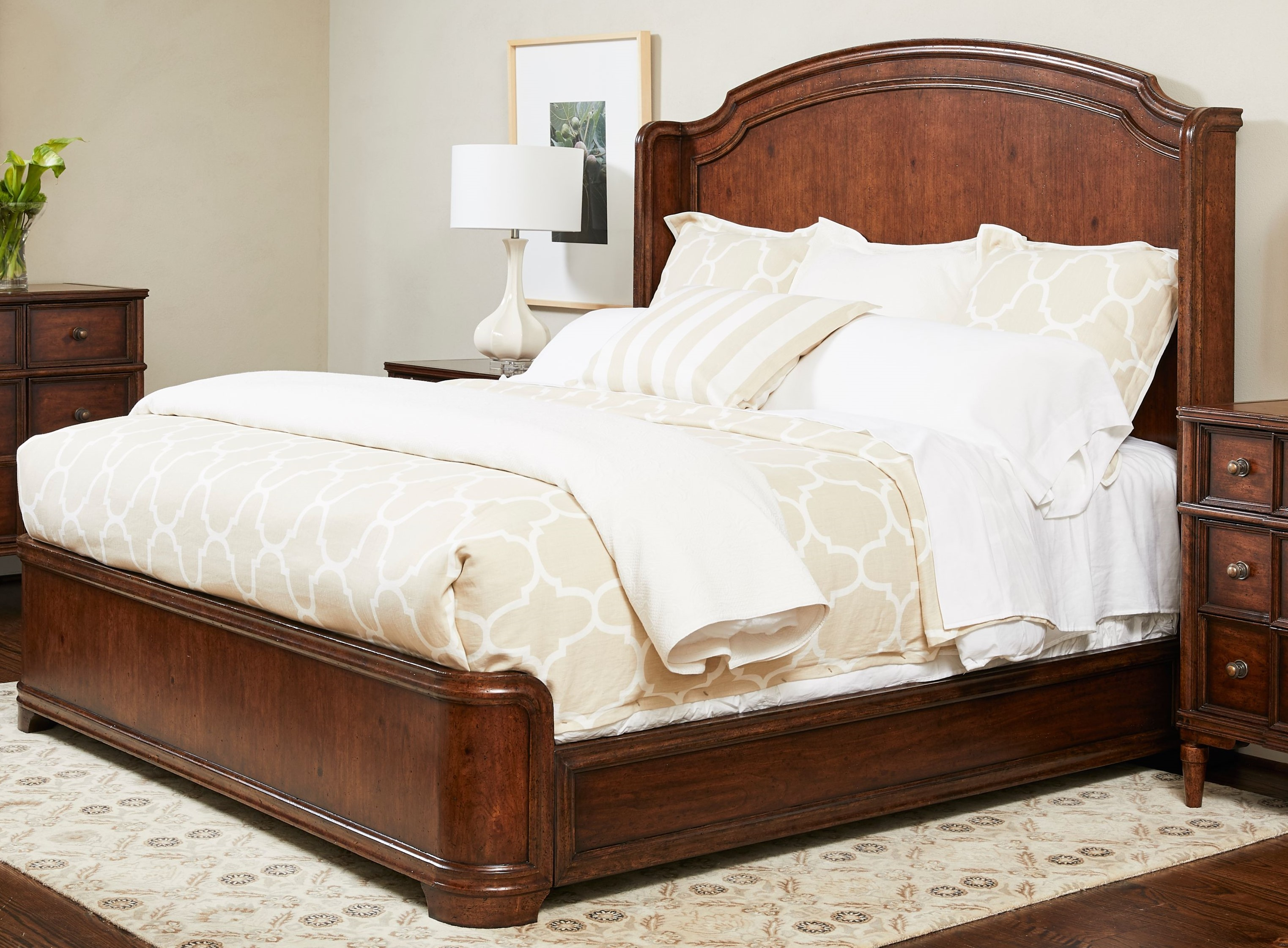 Panel Bed California King
