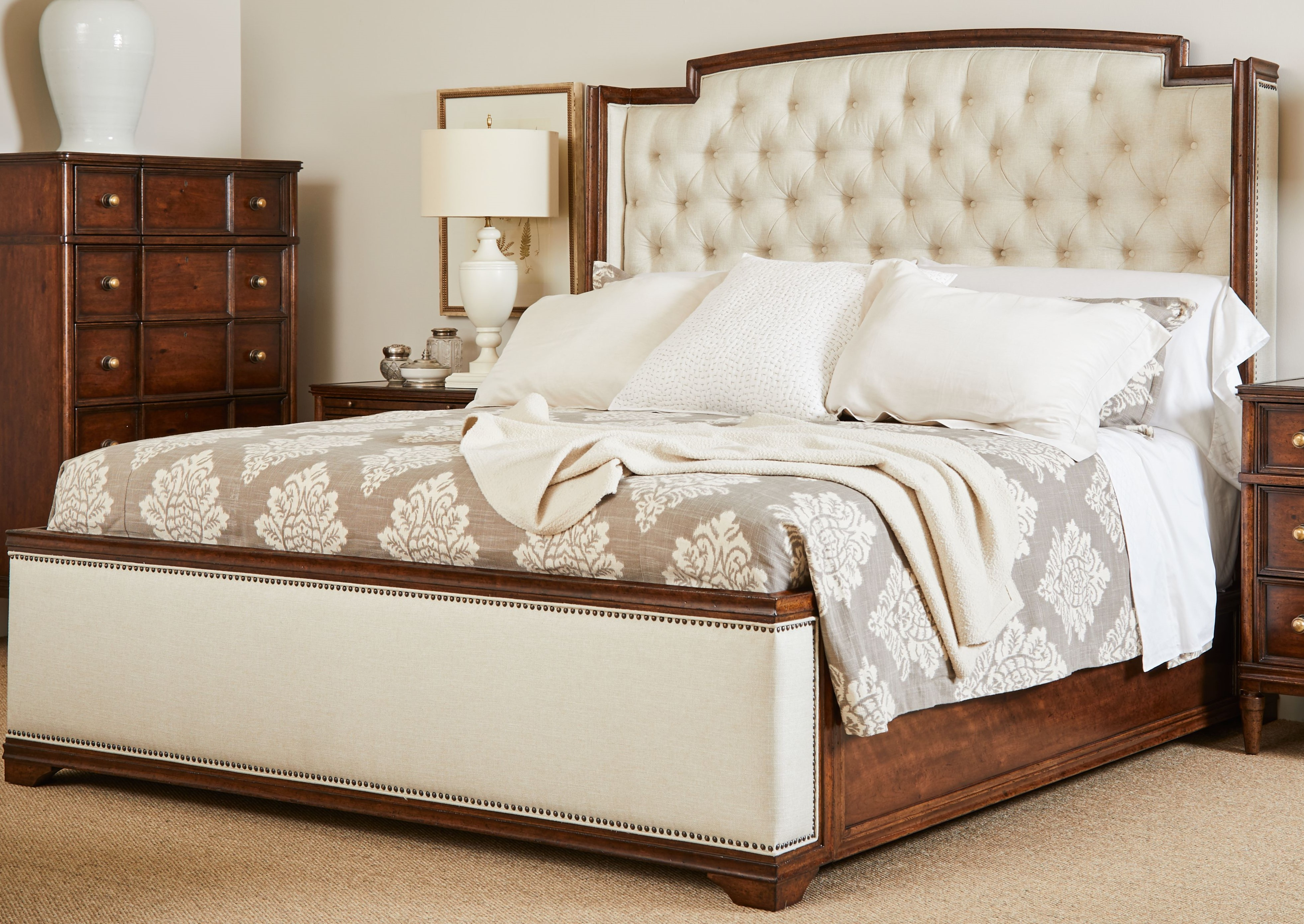 Upholstered Bed California King